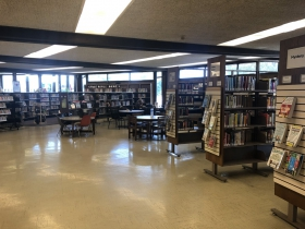 Mill Road Library Interior