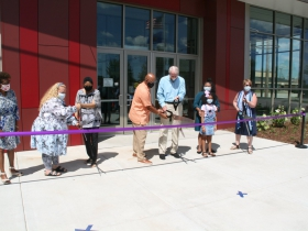 Good Hope Library Ribbon Cutting