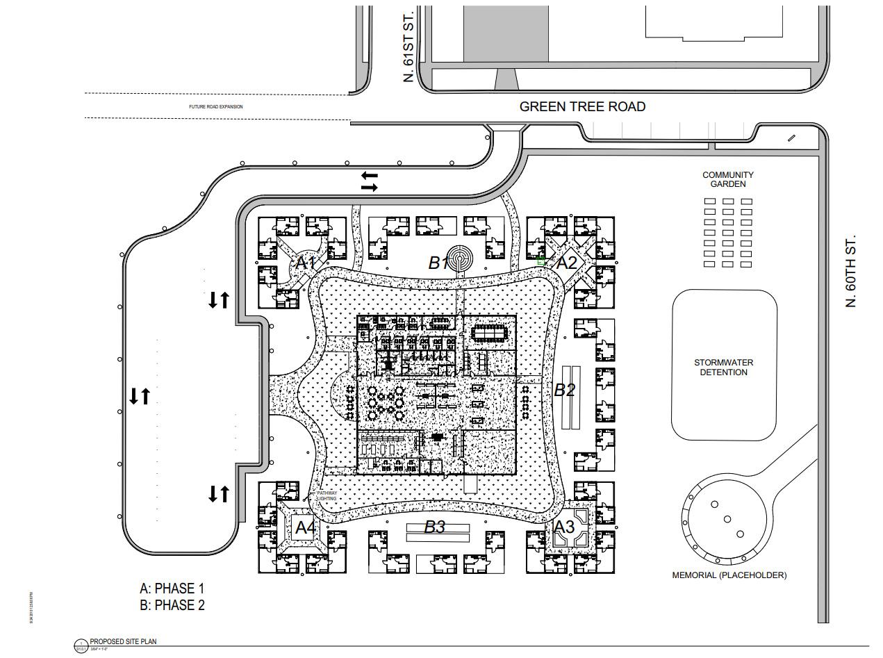 Tiny Homes Site Plan