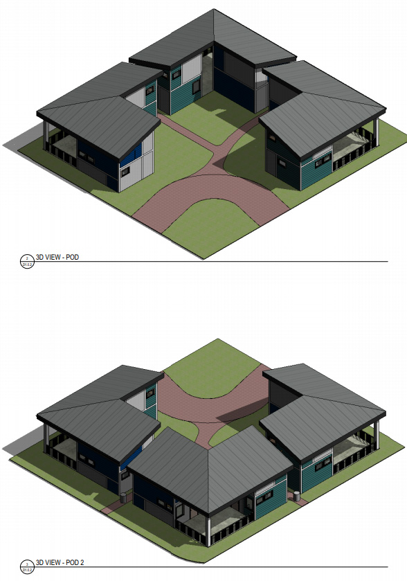 Tiny Homes Rendering