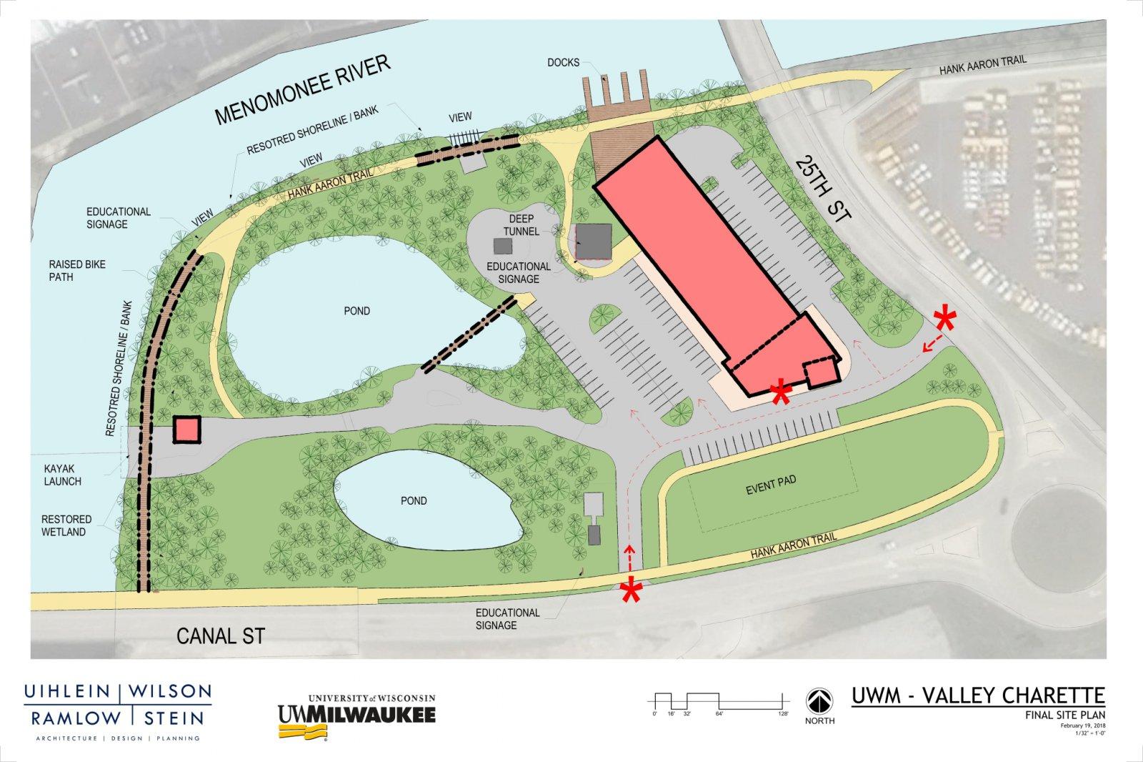 199 N. 25th St. Site Plan