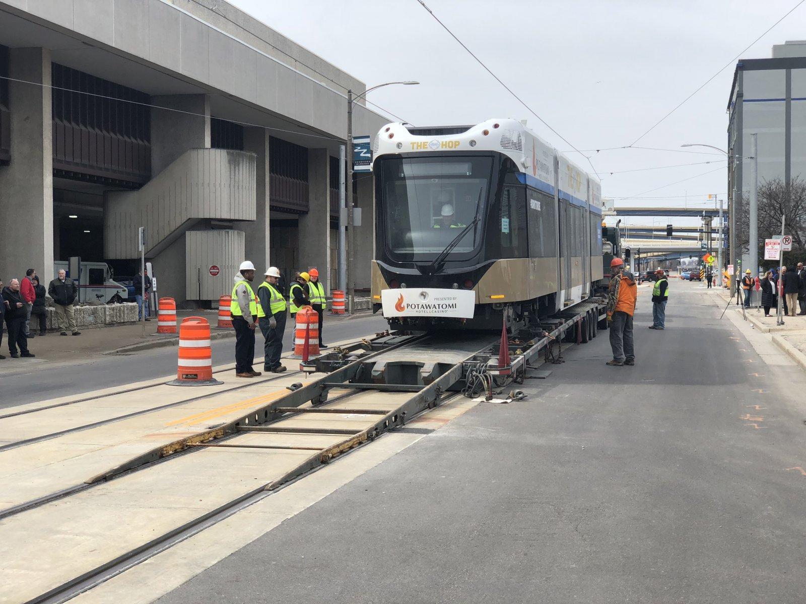 Streetcar Arrival
