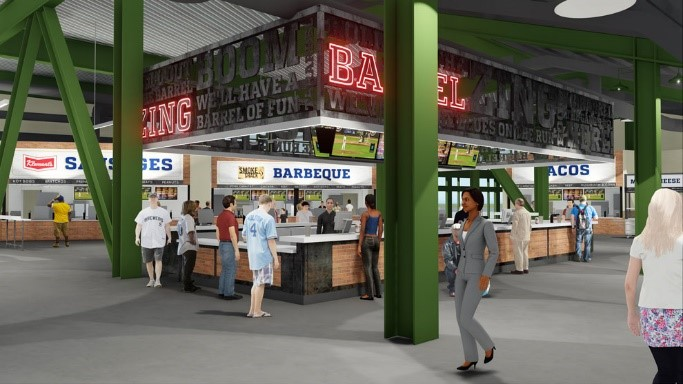 Brewers Concessions Rendering