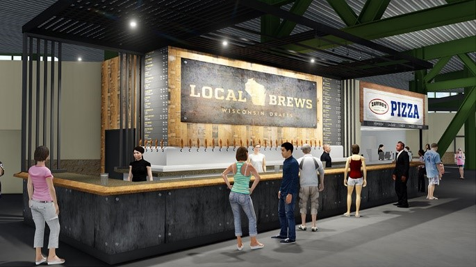New Craft Beer Bar At Miller Park