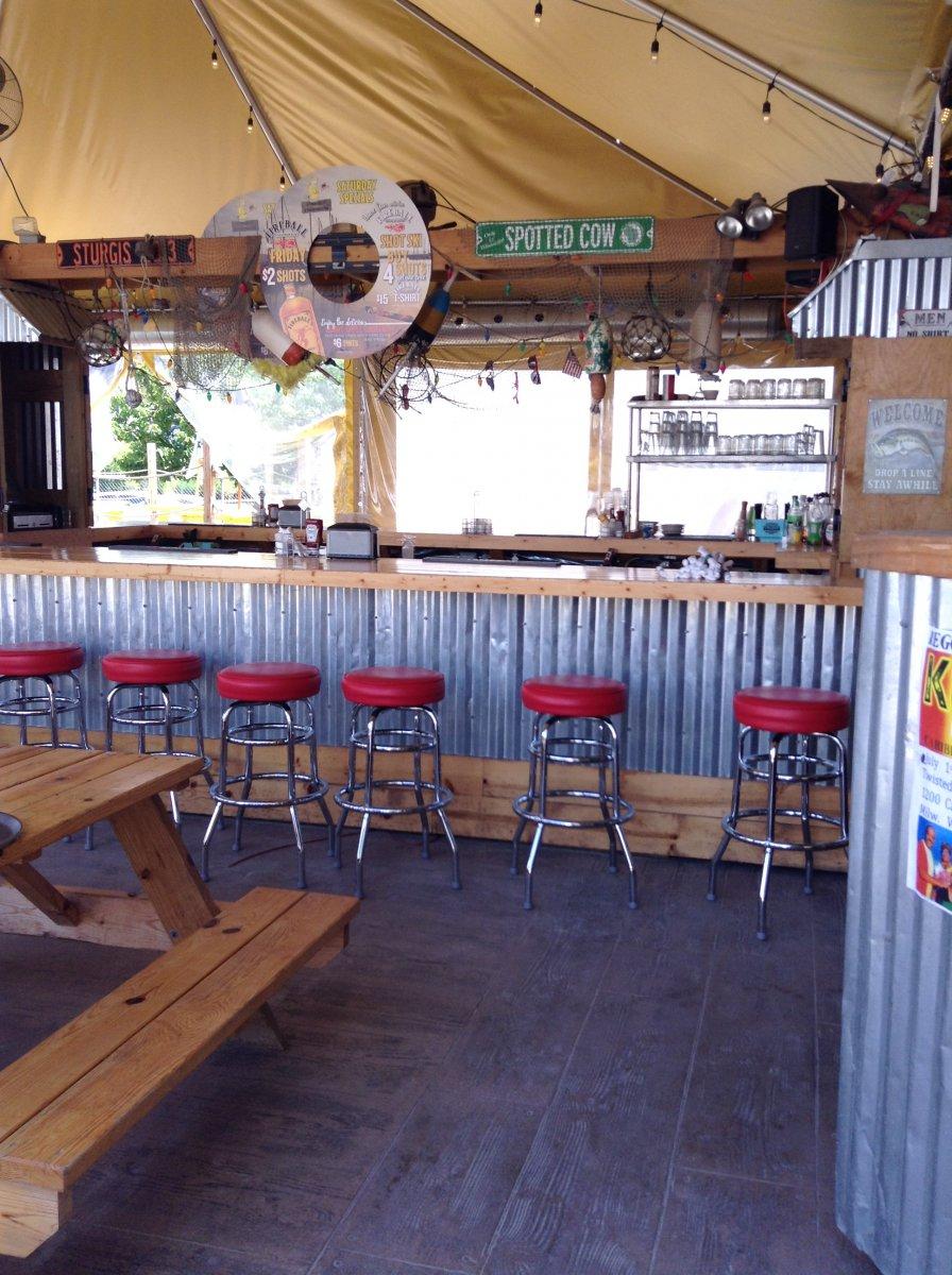 Bar at Twisted Fisherman