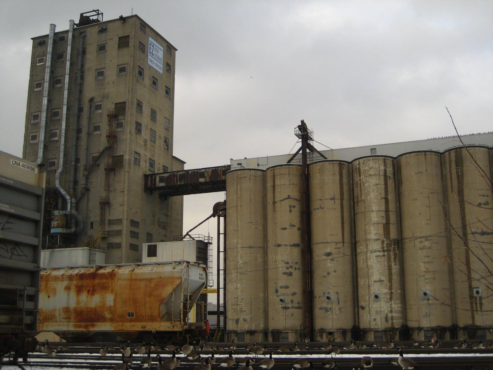 Cargill Grain Elevator.