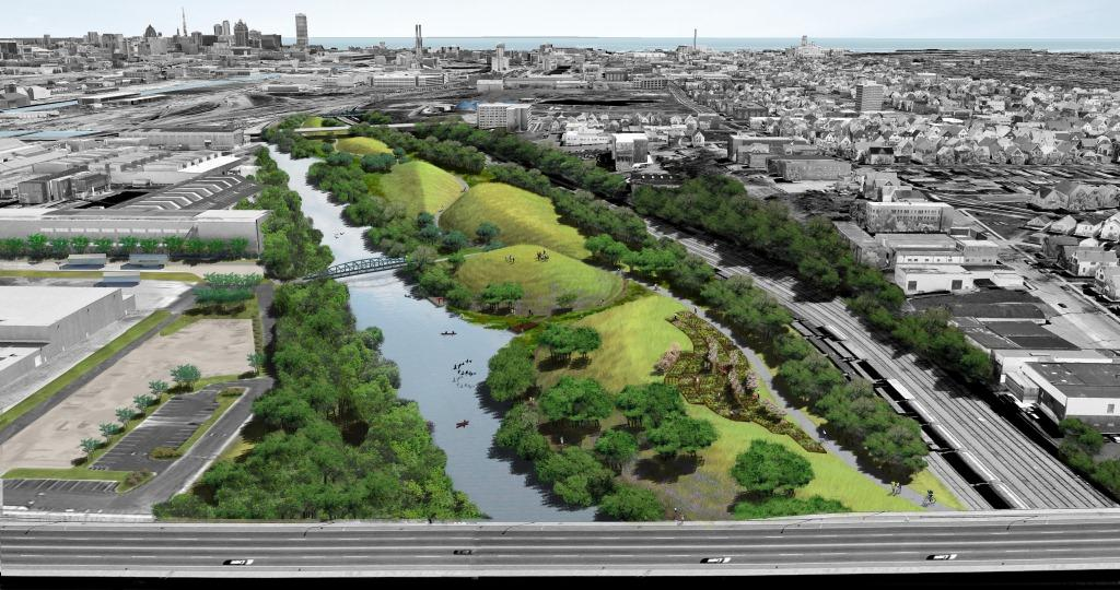 Name the Park Rendering by Wenk Associates.