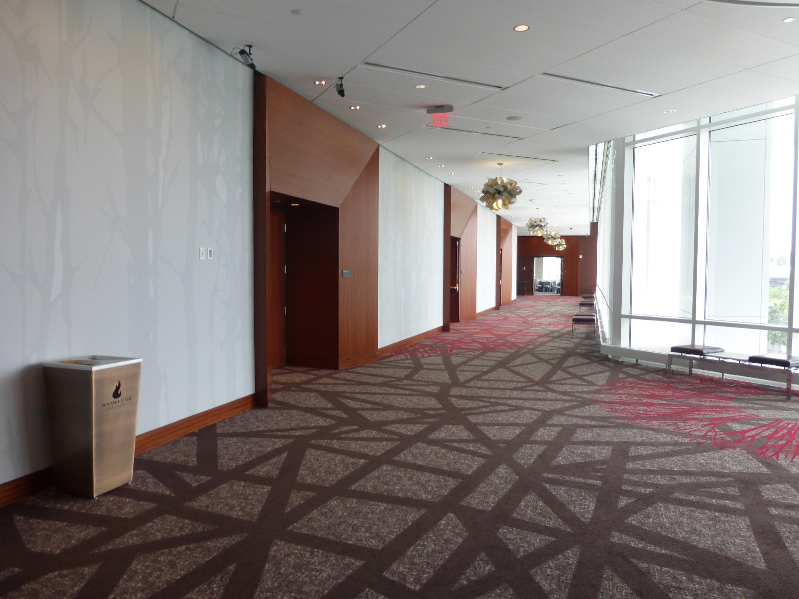 Interior hallway.