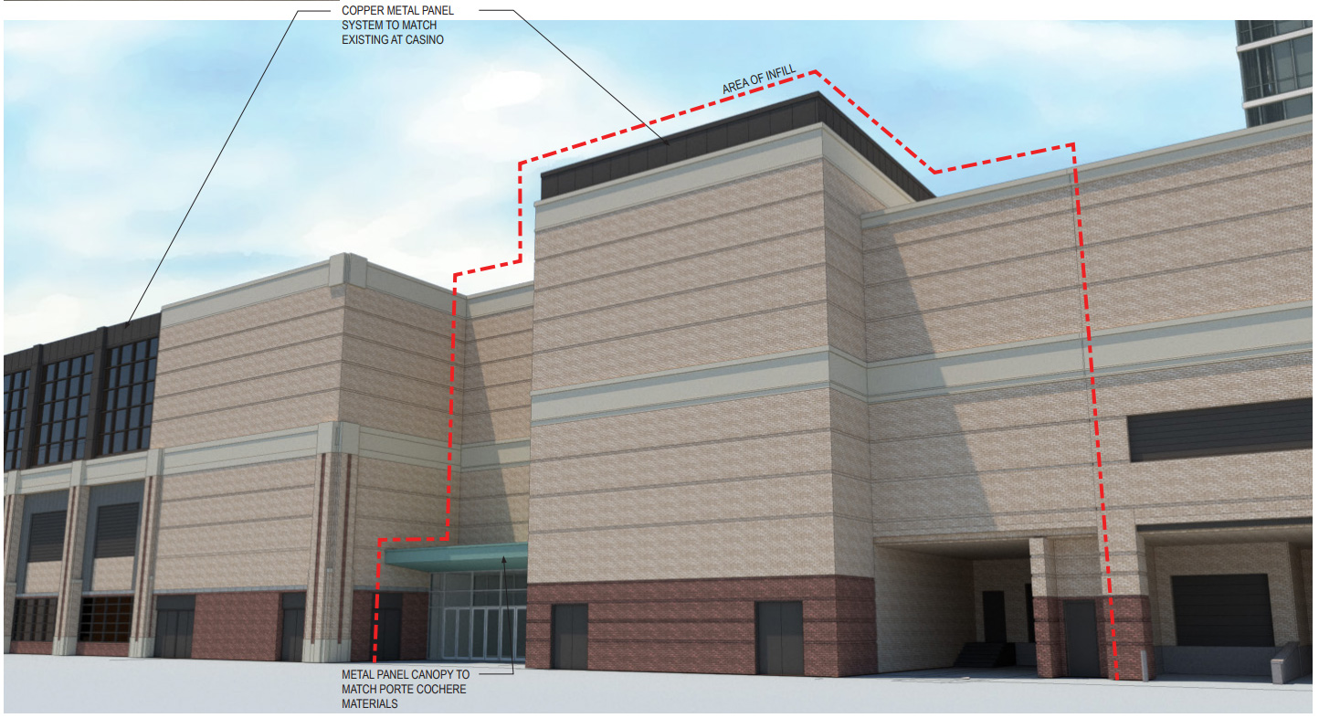 Infill Rendering at Potawatomi Hotel & Casino