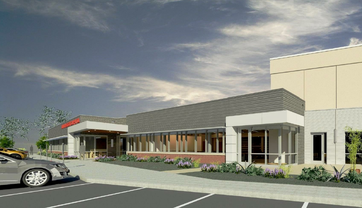 Standard Electric Supply Co. Building Expansion Rendering