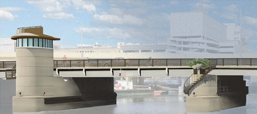 St. Paul Ave. Bridge Rendering.