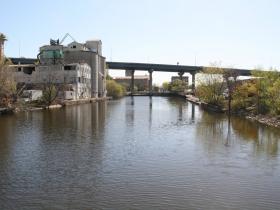 Burnham Canal Looking East