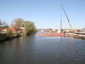 Burnham Canal Looking West