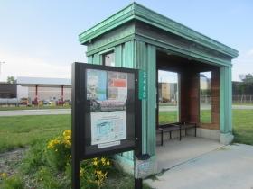 Hank Aaron Trail Streetcar Stop