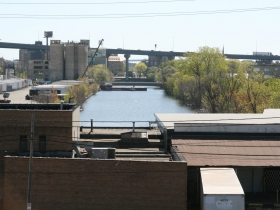 Burnham Canal From S. 16th St.