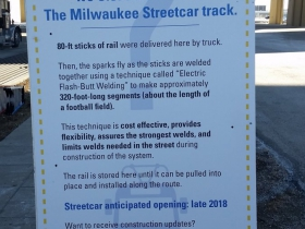 Milwaukee Streetcar Rails