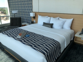 King Bed at Potawatomi Hotel