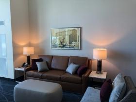 Suite Amenity Area at Potawatomi Hotel