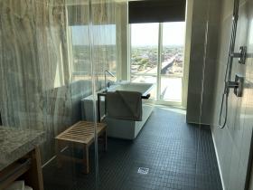 Suite Bathroom at Potawatomi Hotel
