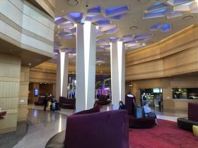 Lobby at Potawatomi Hotel