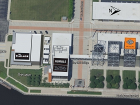 Aerial View of New Event Venue at H-D Museum