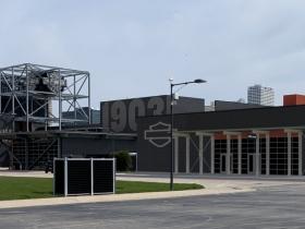 New Building at Harley-Davidson Museum