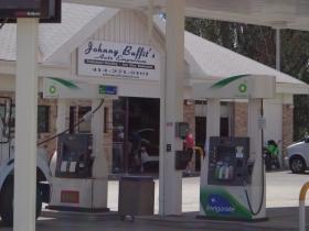 Johnny Buffit's Auto Emporium.