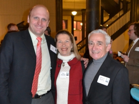 Ald. Nik Kovac, Pam Frautschi, and Richard Ippolito.