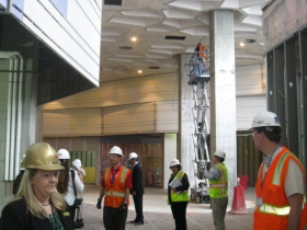 Hard Hat Tour: 18-Story Potawatomi Hotel Nears Completion