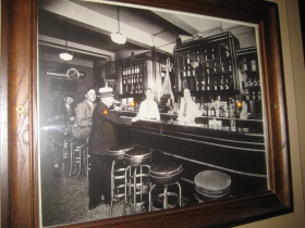 The bar, back in the day