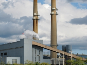Menomonee Valley Power Plant. Photo Provided by the Wisconsin Center for Investigative Journalism.