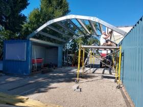 All Hands Boatworks Yard Renovation