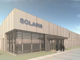 Rendering of Solaris's new valley building, which is currently under construction.