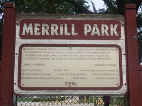 Merrill Park supporters