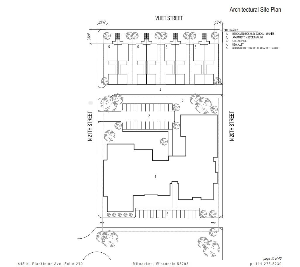 McKinley School Site Plan