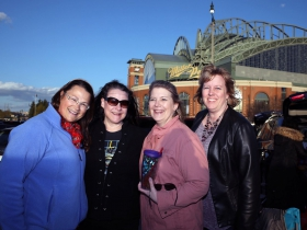 Amy Maurice, Kimara Winters, Sheryl Birkholz and Sarah Horn from Watertown, WI.
