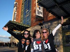 Diehard Billy Joel fans, Lynda Scaffidi, Debora Bart and Melissa Cerni.
