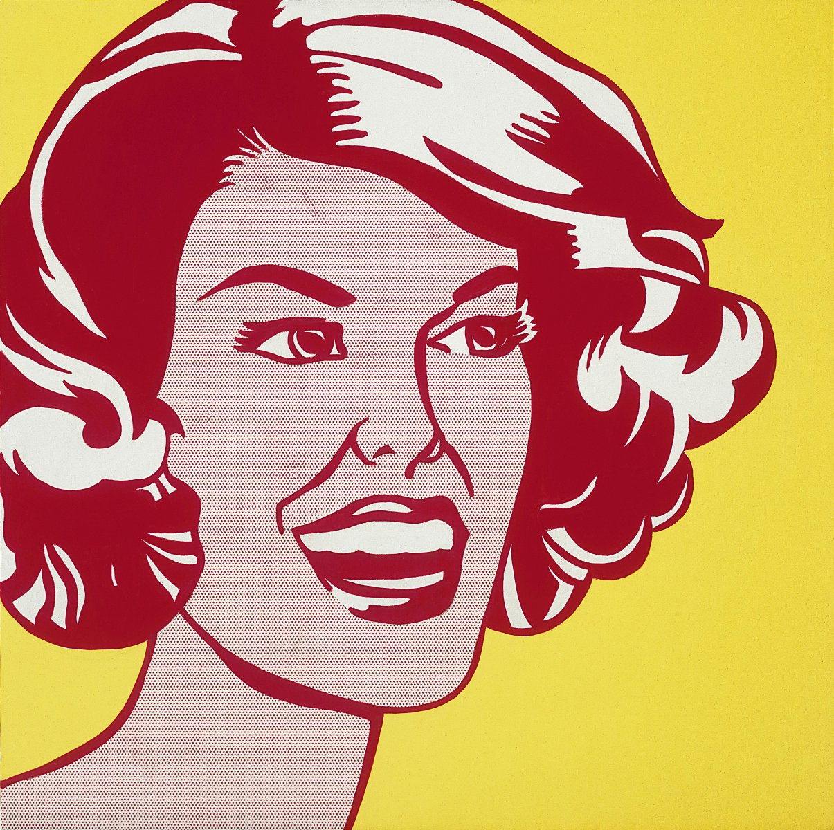 Head—Red and Yellow, 1962.