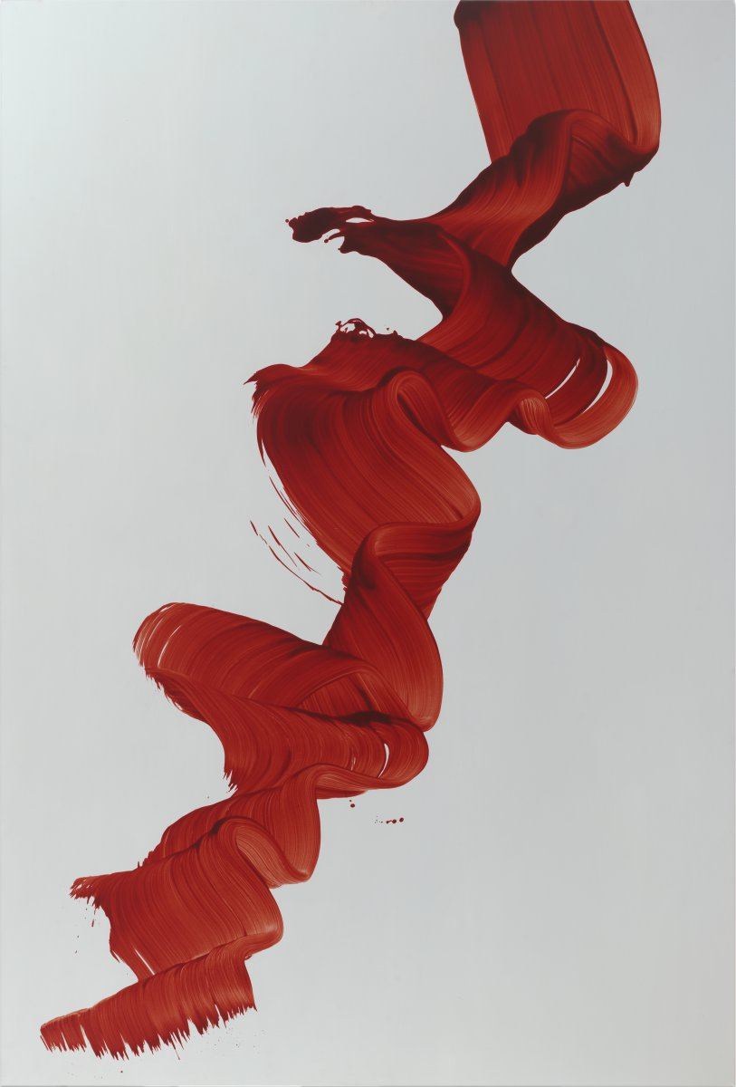 James Nares, Blues in Red #1, 2004