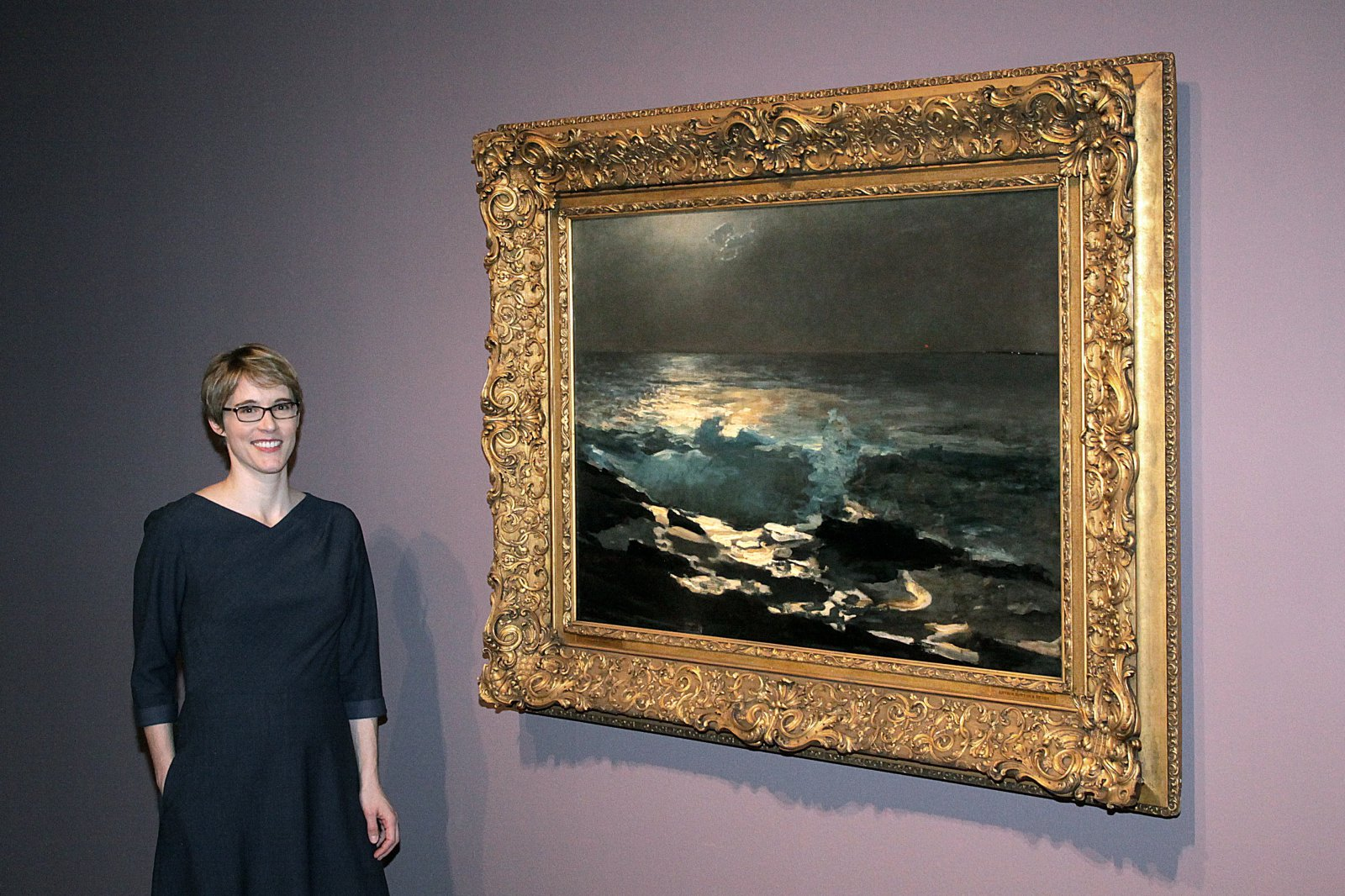 Elizabeth Athens, exhibition co-curator, Worcester Art Museum, presently at the National Gallery of Art