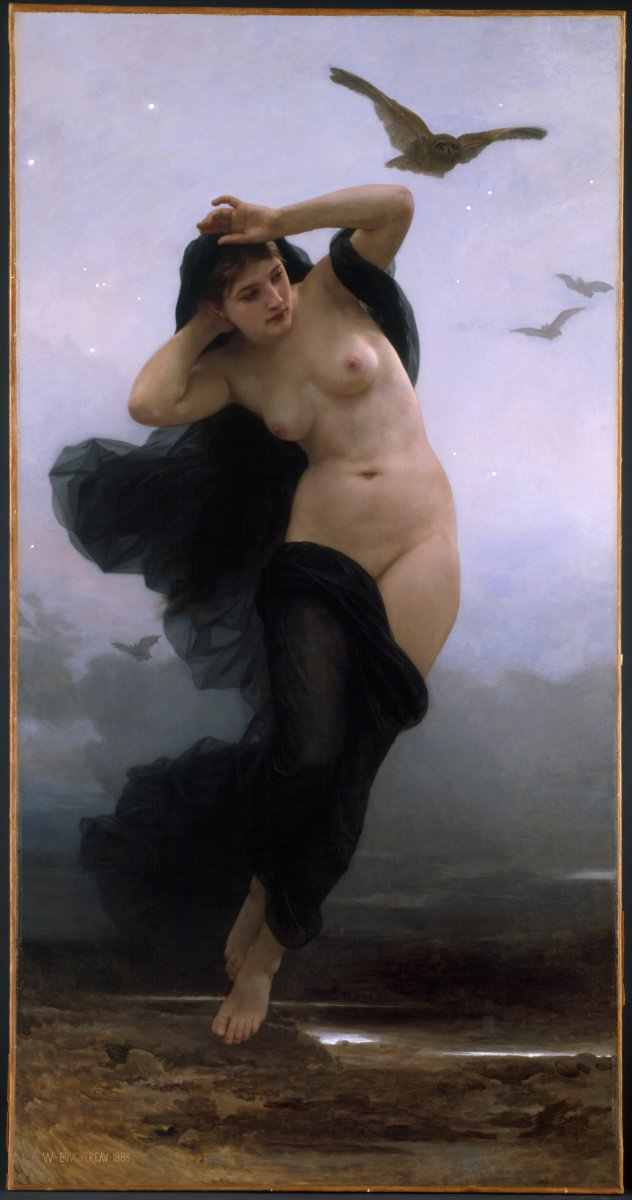 Night by William-Adolphe Bouguereau