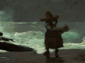 Winslow Homer, The Gale, 1883–93.