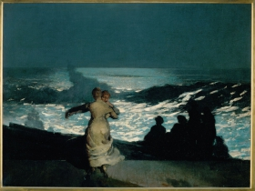 Winslow Homer, Summer Night, 1890.