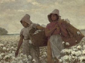 Winslow Homer, The Cotton Pickers, 1876.