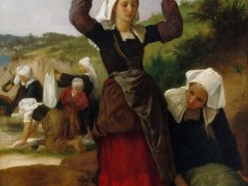 Washerwoman of Fouesnant by William-Adolphe Bouguereau