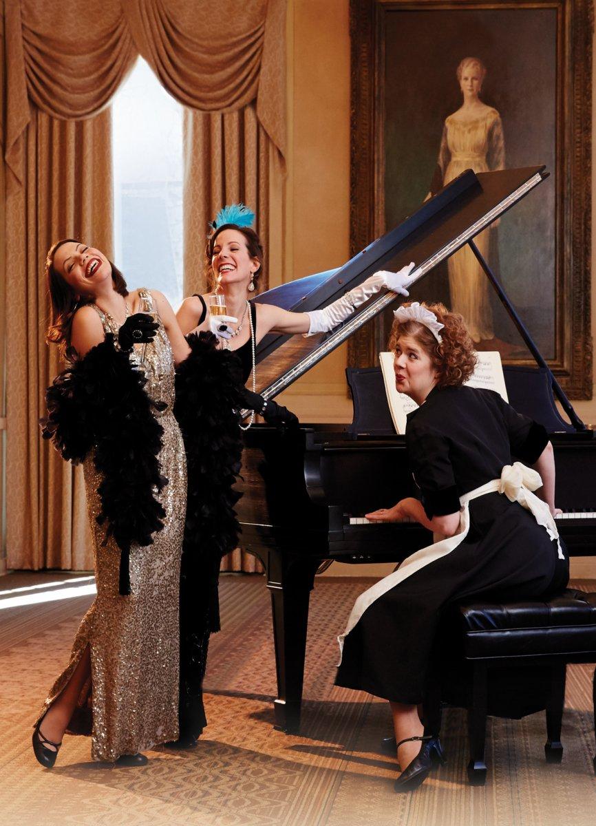 L-R: Beth Mulkerron, Kay Allmand and Molly Rhode. Photo by John Nienhuis.