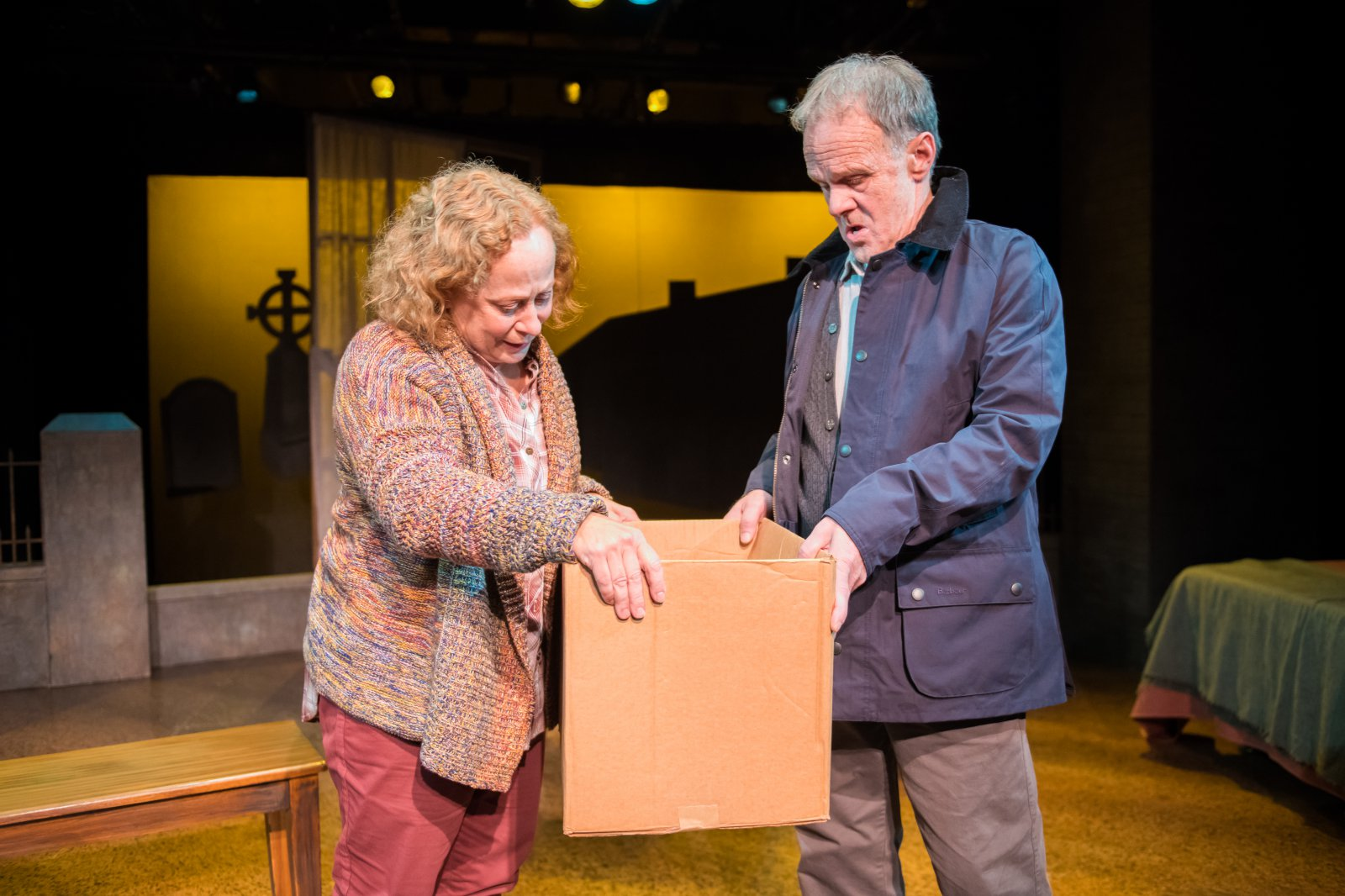 Jenny Wanasek as Betty and James Tasse as Dan