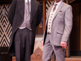 (l-r): Matt Daniels as Jeeves & Chris Klopatek as Bertie