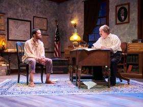 (L-R) Marques Causey as Shepard Mallory, Drew Brhel as Maj. Gen. Ben Butler