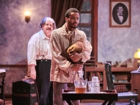 (L-R) Drew Brhel as Maj. Gen. Ben Butler, Marques Causey as Shepard Mallory